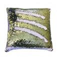 White Gold Mermaid Pillow A