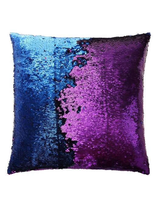 Purple Blue Mermaid Pillow Mermaid Pillows